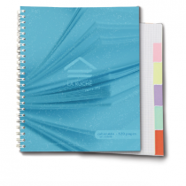 cahier onglets couleurs
